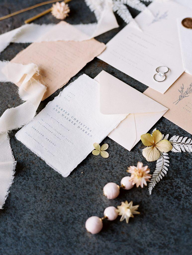 Invitation Suite Flatlay